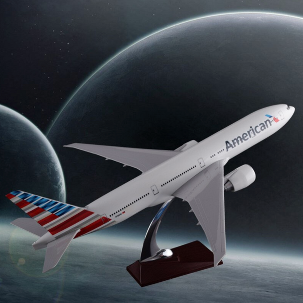 American Airways Boeing 777 Airplane Model (Special Model 47CM)