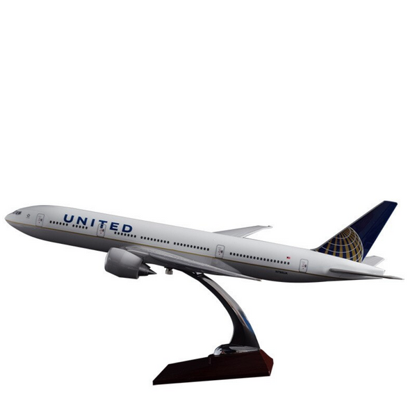 United Boeing 777 Airplane Model (Special Model 47CM)