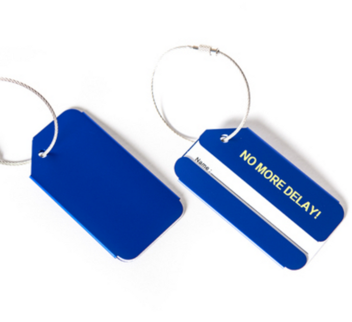 NO MORE DELAY! Designed Luggage Tag