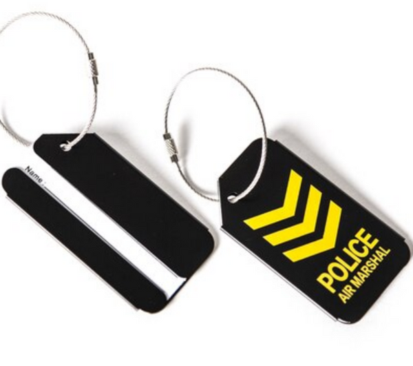 Police Air Marshal Designed Luggage Tag