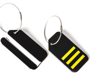 3 Stripes (First Officer) Designed Luggage Tag
