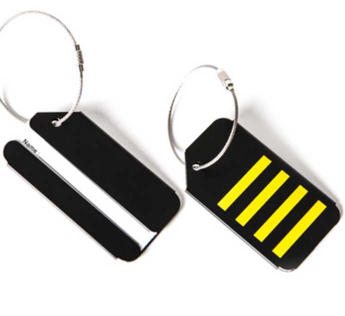 4 Stripes (Captain) Designed Luggage Tag