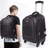 WATERPROOF Large Capacity Trolley & Backpack for Flyers & Travellers