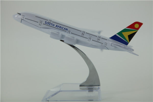 South African A380 Airplane Model (16CM)