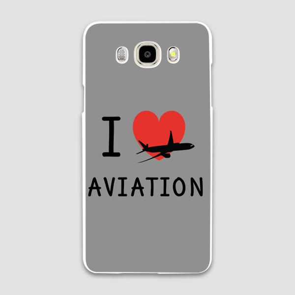 I Love Aviation Designed Samsung C & J Cases