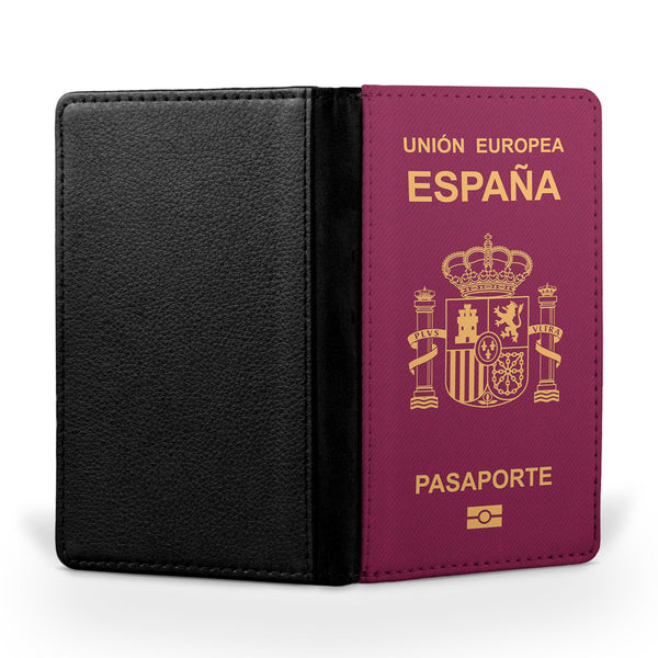 Spain Passport Designed Passport & Travel Cases