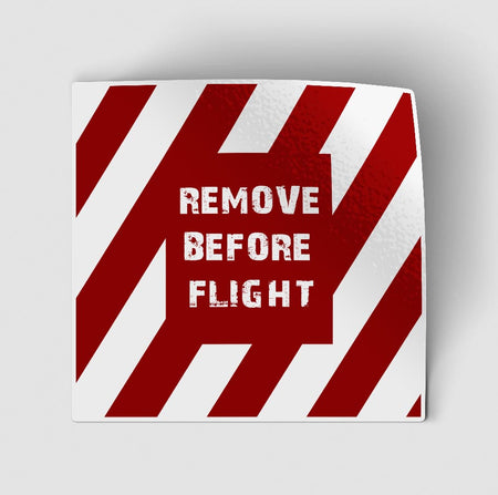 Special Edition Remove Before Flight Designed Stickers