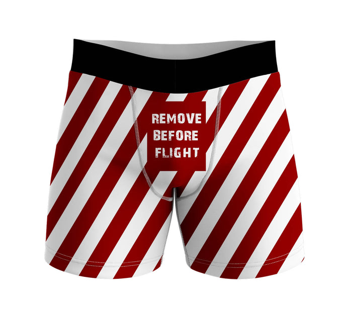 Special Edition Remove Before Flight Designed Men Boxers