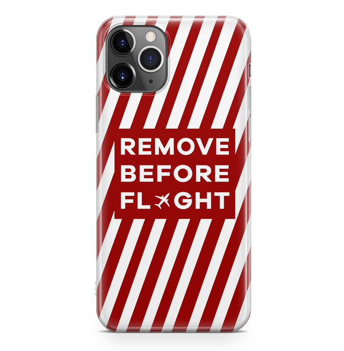 Special Edition Remove Before Flight Designed iPhone Cases