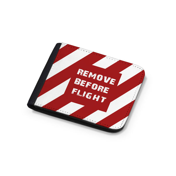 Special Edition Remove Before Flight Designed Wallets