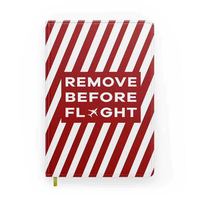 Special Edition Remove Before Flight Designed Notebooks