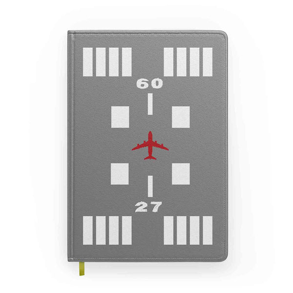 Special Runway (Gray) Designed Notebooks