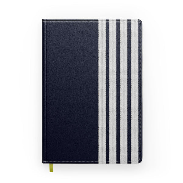 "Special ""SILVER"" Pilot Epaulettes (4,3,2 Lines) Designed Notebooks"