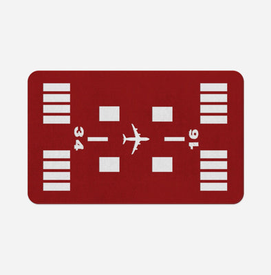 Special Runway (Red) Designed Door & Bath Mats