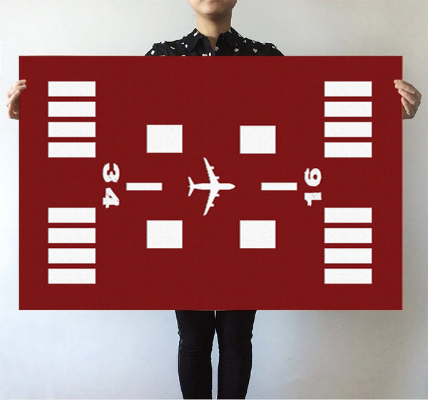 Special Runway (Red) Designed Posters