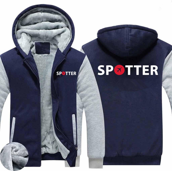 Spotter Designed Zipped Sweatshirts