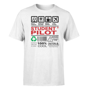 Student Pilot Label Designed T-Shirts