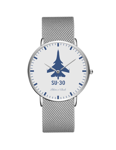 Sukhoi SU-30 Stainless Steel Strap Watches