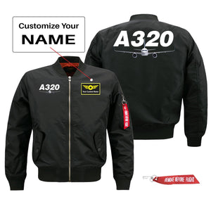Super Airbus A320 Designed Pilot Jackets (Customizable)