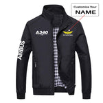 Super Airbus A340 Designed Stylish Jackets