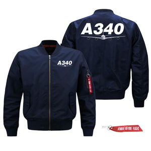 Super Airbus A340 Designed Pilot Jackets (Customizable)