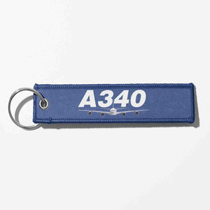Super Airbus A340 Designed Key Chains