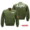 Super Airbus A380 Designed Pilot Jackets (Customizable)