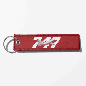 Super Boeing 747-8 Intercontinental Designed Key Chains