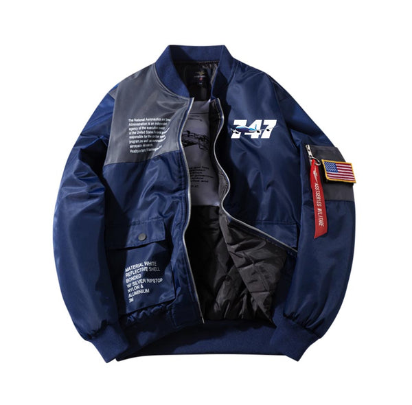 Super Boeing 747 Designed Special Jackets (Customizable FLAG)