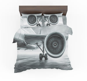 Super Cool Airliner Jet Engine Designed Bedding Sets