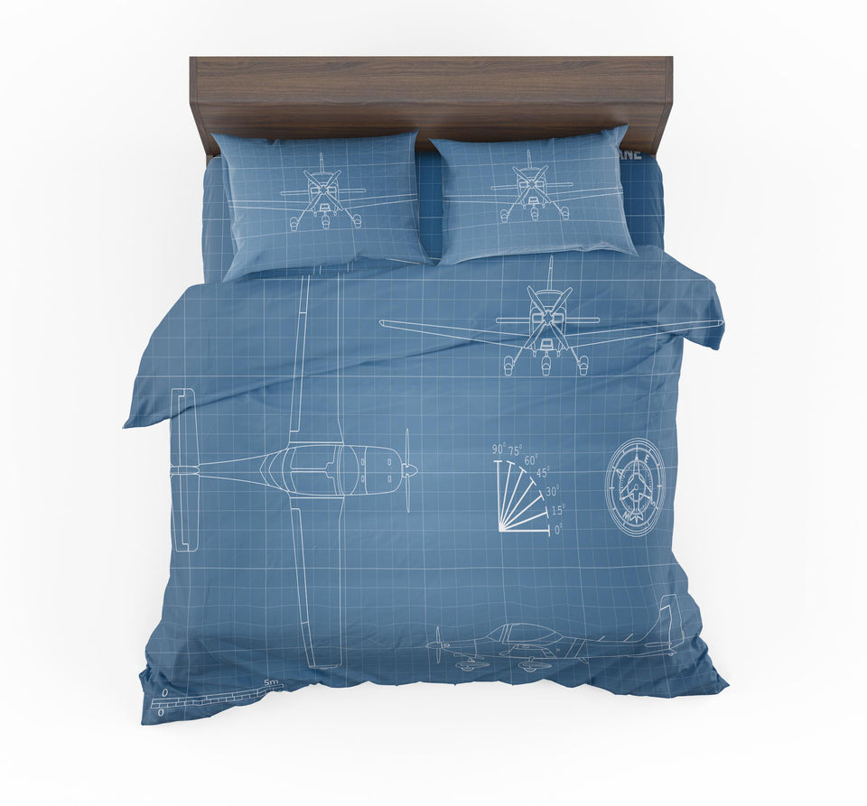 Super Propeller Details Designed Bedding Sets