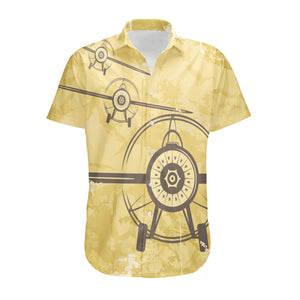 Super Vintage Propeller Designed 3D Shirts