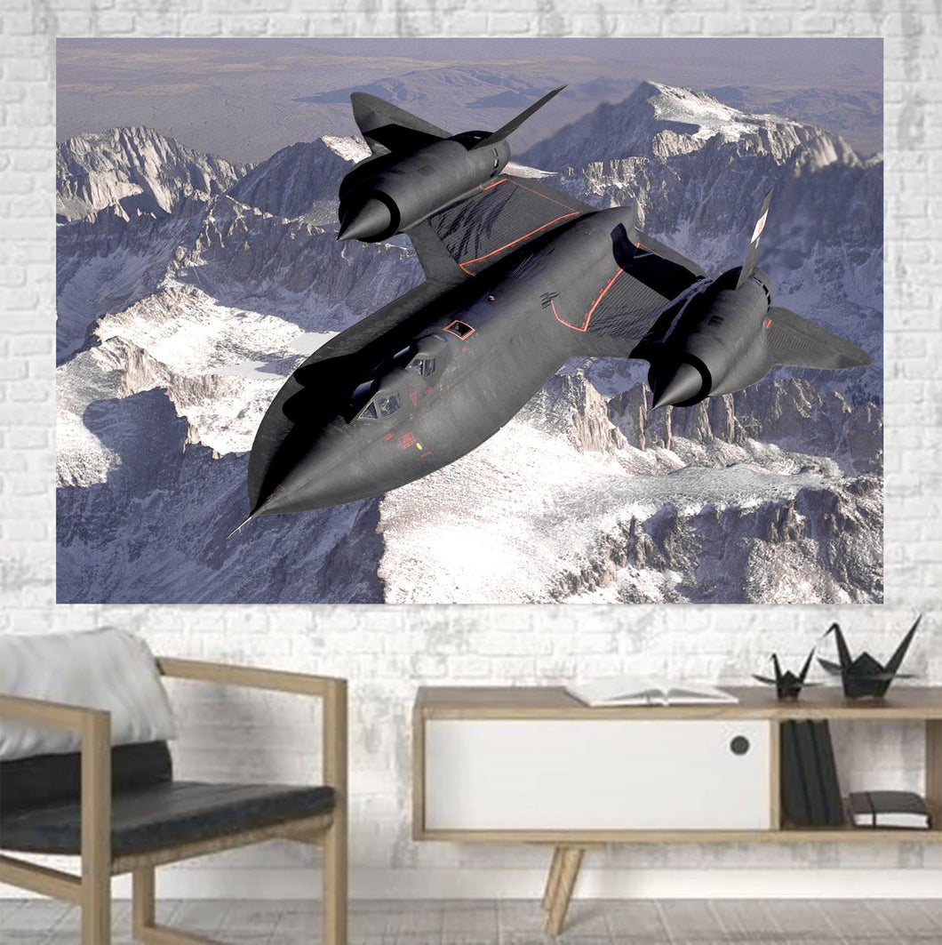 Supersonic Fighter Printed Canvas Posters (1 Piece) Aviation Shop