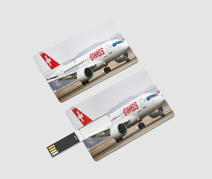 Swiss Airlines Bombardier CS100 Printed iPhone Cases
