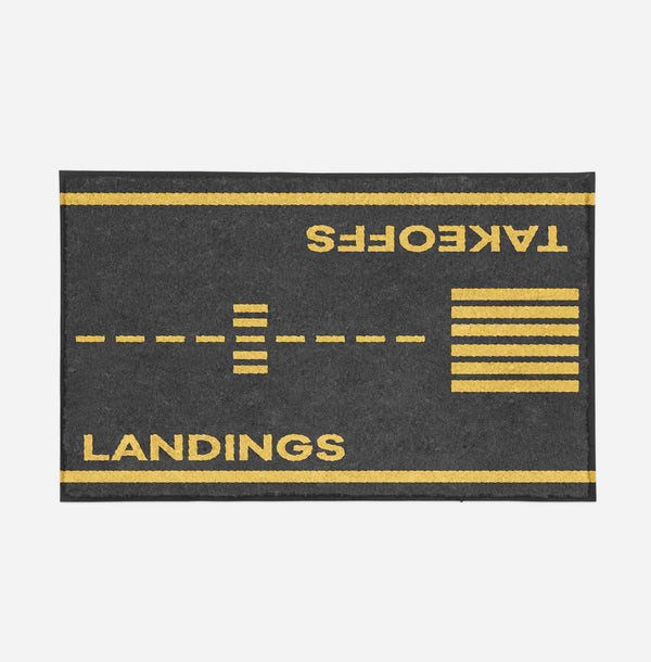 Takeoff & Landings Designed Door Mats Aviation Shop