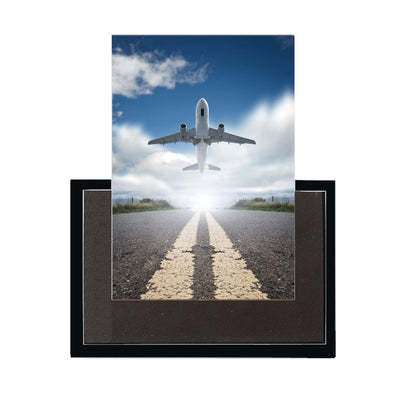 Taking Off Aircraft Printed Magnet Pilot Eyes Store