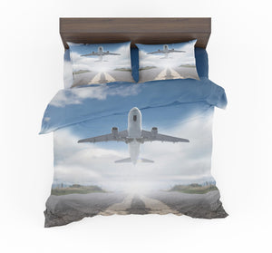 Taking Off Aircraft Designed Bedding Sets