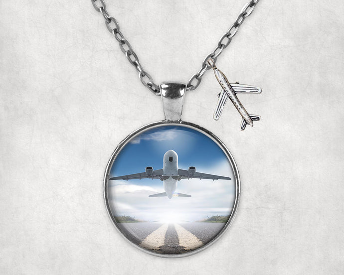 Taking off Aircraft Designed Necklaces