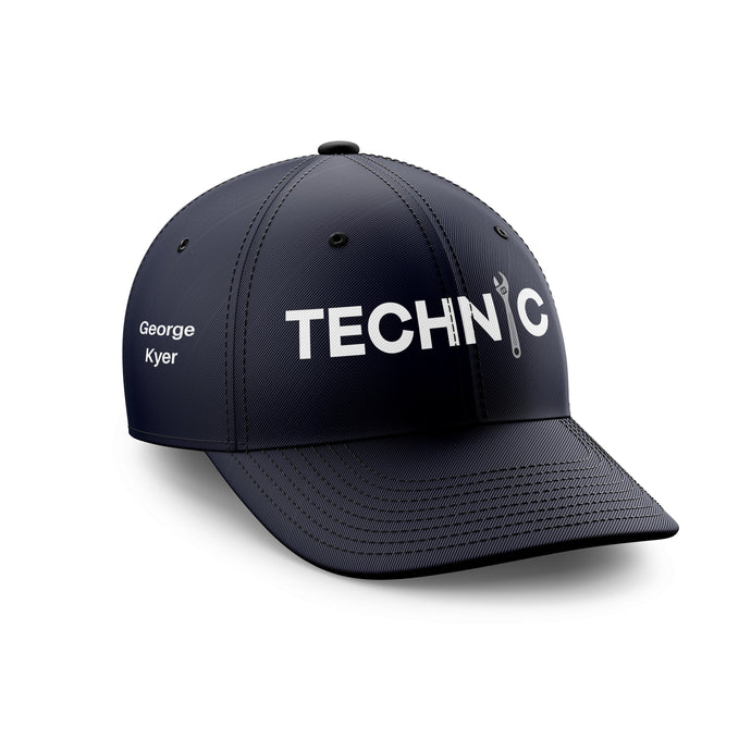 Customizable Name & Technic Embroidered Hats