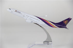 Thai Airways Airbus A330 Airplane Model (16CM)