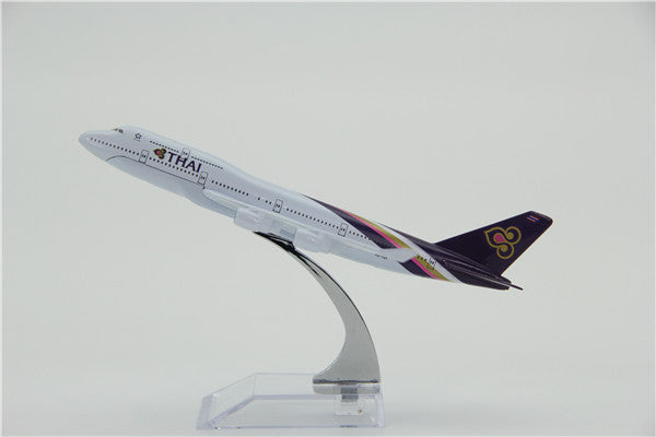 Thai Airways Boeing 747 Airplane Model (16CM)