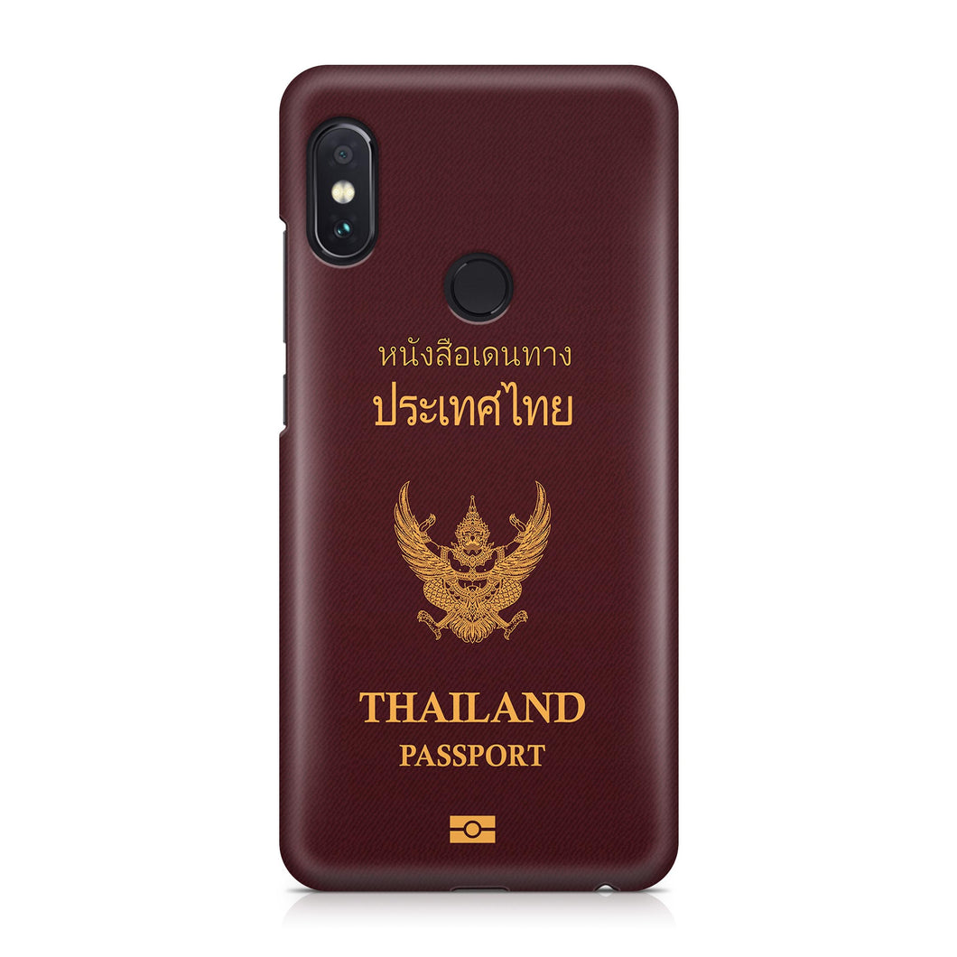Thailand Passport Designed Xiaomi Cases