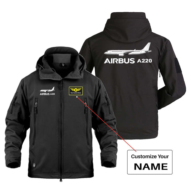 The Airbus A220 Designed Military Jackets (Customizable)