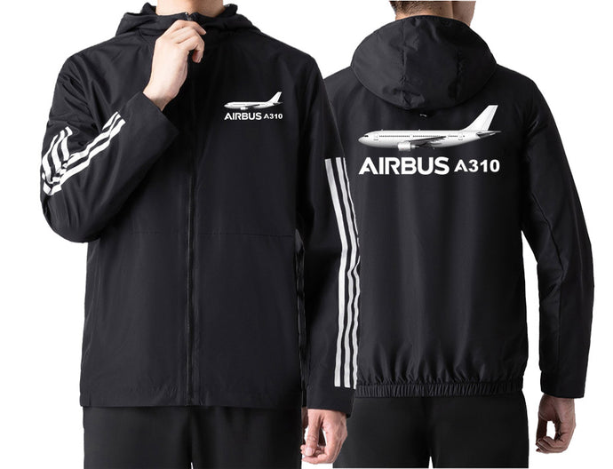 The Airbus A310 Designed Windbreaker Jackets