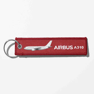 The Airbus A310 Designed Key Chains