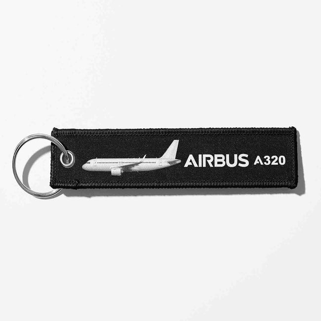 The Airbus A320 Designed Key Chains
