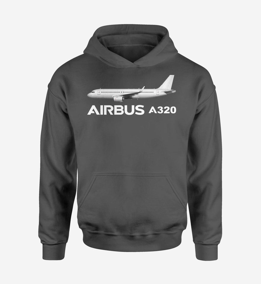 The Airbus A320 Designed Hoodies