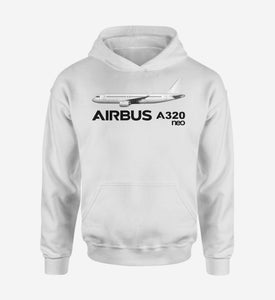 The Airbus A320neo Designed Hoodies