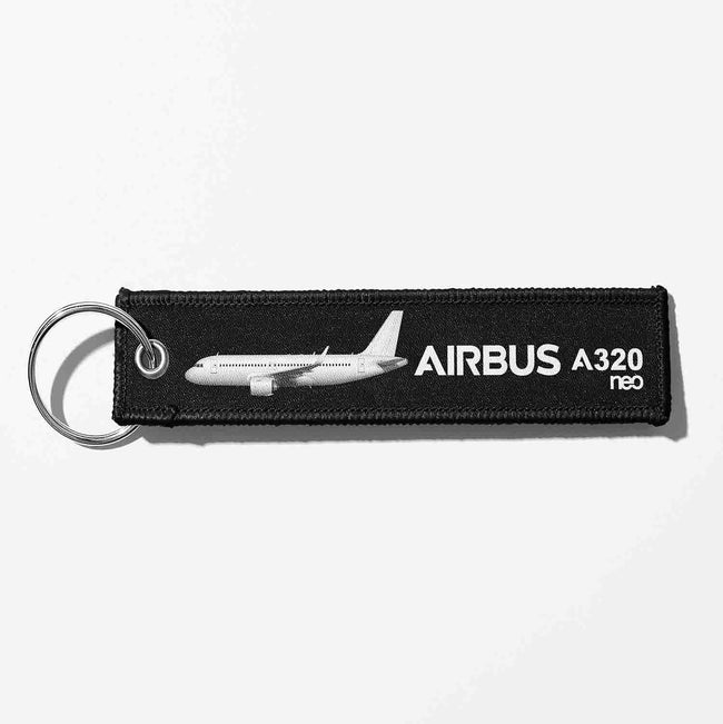 The Airbus A320neo Designed Key Chains