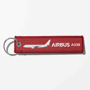 The Airbus A330 Designed Key Chains